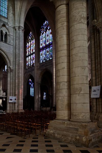 Saint-Quentin Basilica North Transept Elevation