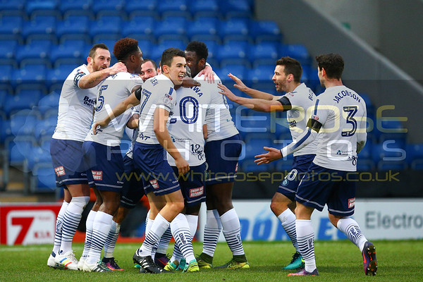 Chesterfield v Wycombe Wanderers (2nd Round)