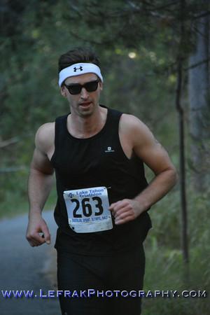 Lake Tahoe Triathlon 2014 Sprint Run