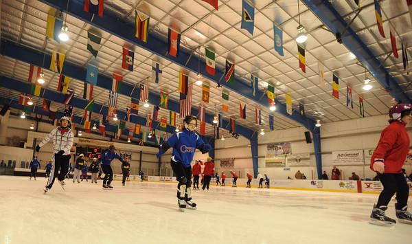 Winter games/ speed skating