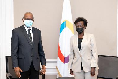SEM Maman SIDIKOU, Secrétaire exécutif du G5 Sahel - Paris