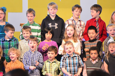 FBC Kids Singing March 23 2014