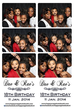 Dae & Rae`s 18th Birthday