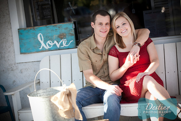 Courtney and Keegan's Engagement Pix