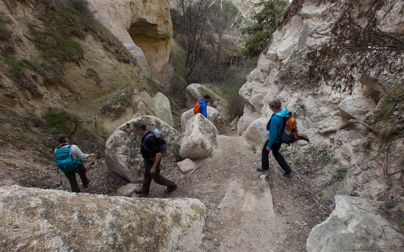 cappadocië, mestendir valley