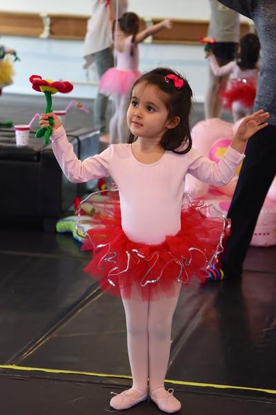 Ariella at ballet