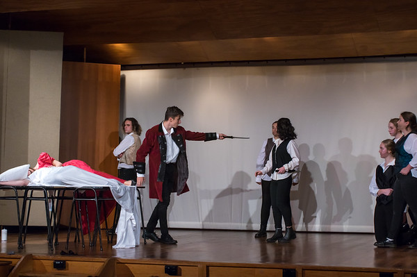 6. Sacred Heart, Hutt Boy's, St Pats - Othello Act 1 sci, Act II sci