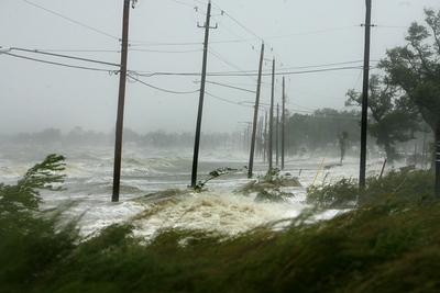 Hurricane Gustav-Gulfport 2008