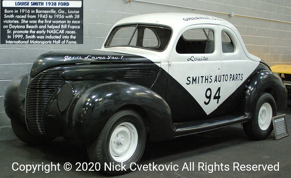 Driven by the first major woman NASCAR driver.