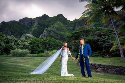 Kualoa Ranch O'ahu - Dream Hawai'i Mountain Wedding