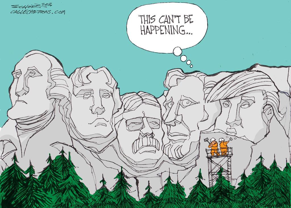. Bill Schorr / Cagle Cartoons