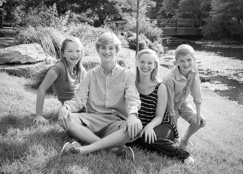 Kids in the Sunshine, Pose 2 crop bw (1 of 1).jpg
