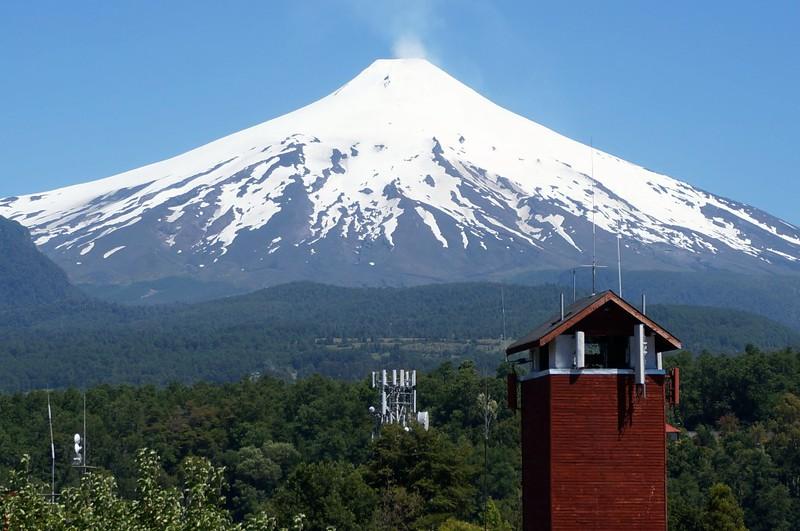 South America Adventure Villarrica Volcano Chile