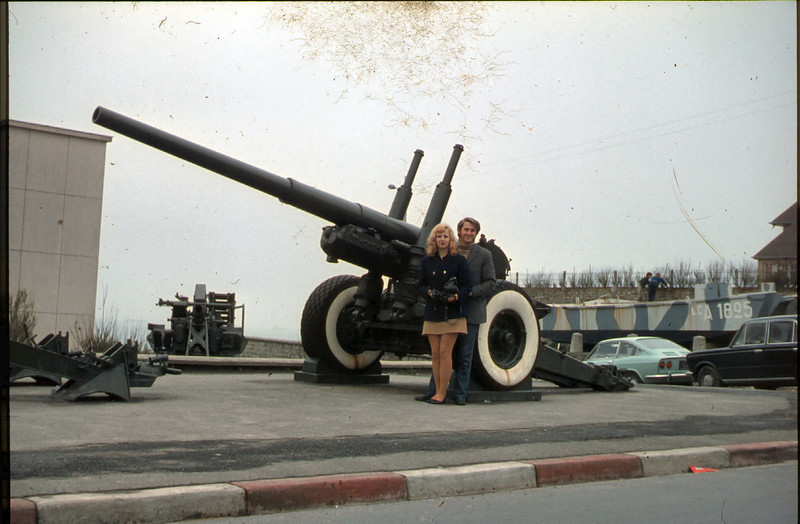 John & Margie with the Big Guns.