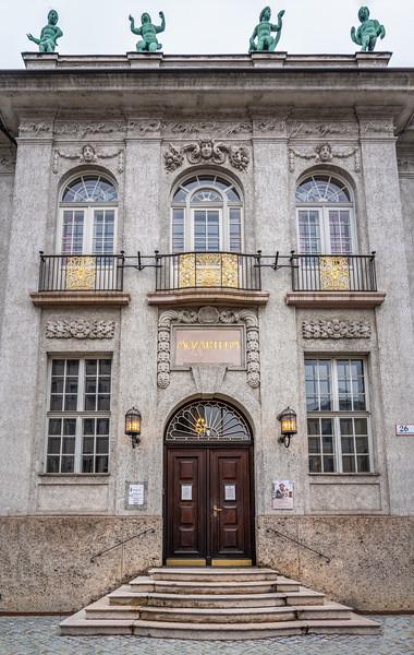 Mozarteum Foundation main entrance