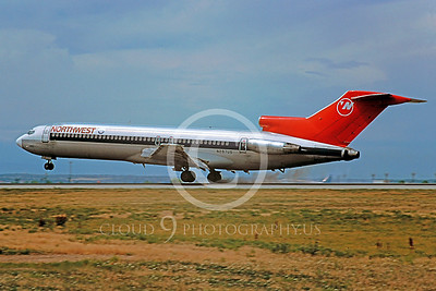 Northwest Airline Boeing 727 Airliner PIctures
