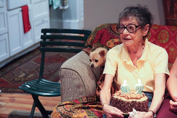 Martine's 92nd Birthday - 2018