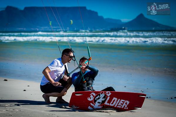 Soldier Kiteboarding - RideX