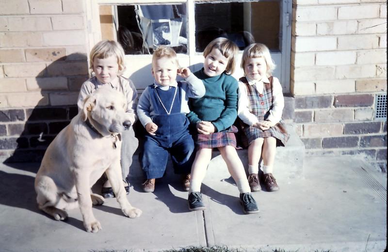 1960-7 (12) Joanne 5, Martin 1 yr 11 mths, Louise 4 & Debbie 3.JPG