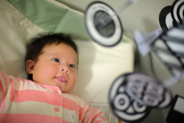 8/11/12 Norah staring at her mobile