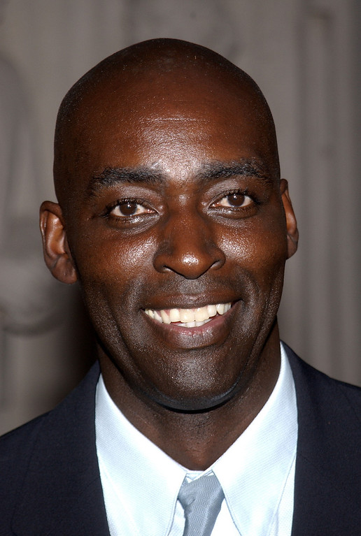 . Actor Michael Jace attends the Writers Peer Group reception for Emmy Award nominees for Outstanding Writing at the Academy of Television Arts and Sciences on August 13, 2002 in North Hollywood, California. (Photo by Vince Bucci/Getty Images)