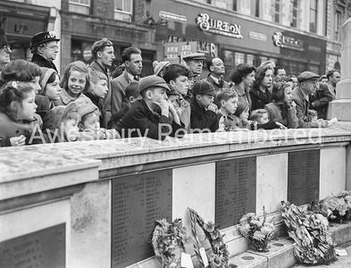 Remembrance Service, Nov 8th 1953