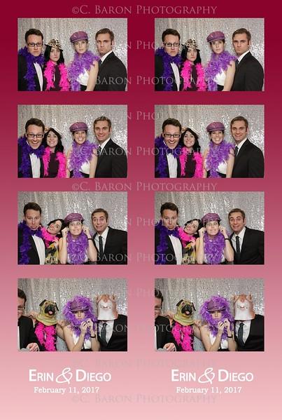 Erin + Diego = Swanky Photobooth