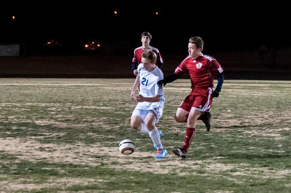 BHS Soccer vs Sahuaro, 12/19/2013