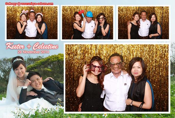 Kester + Celestine Photobooth Album