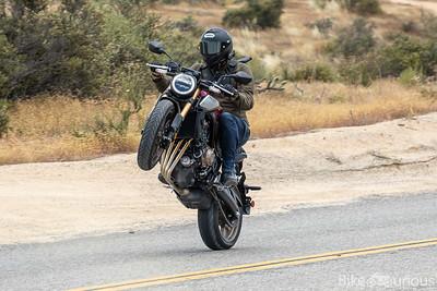 Honda CB650R and CBR650R