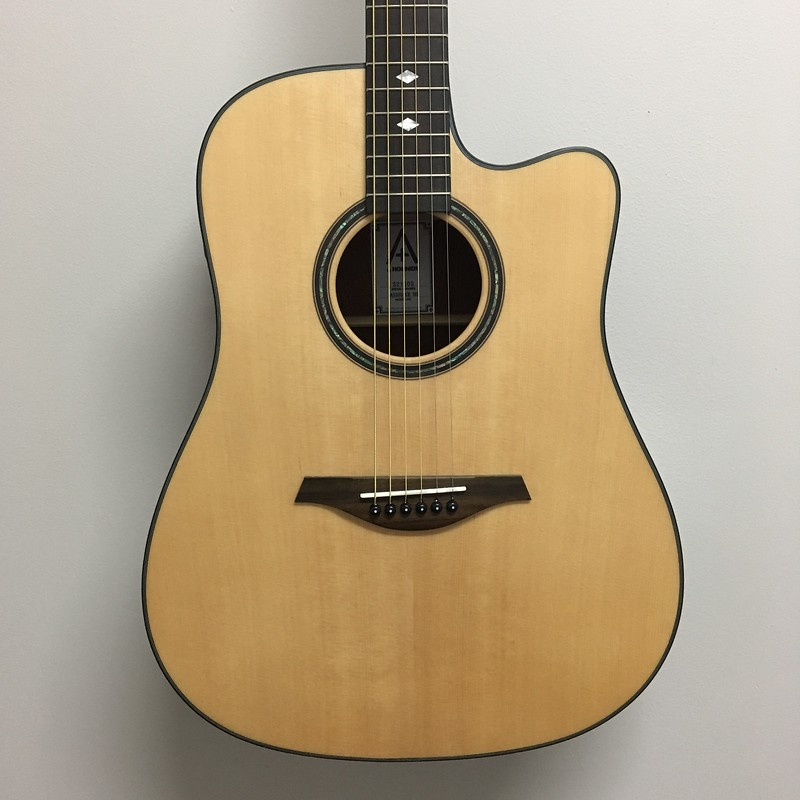 Hohner A+ Dreadnought Guitar A/E Satin