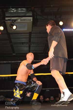 CZW 1/14/12 - Derek Frazier vs Ryan McBride