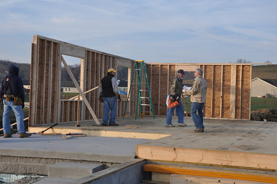 Habitat for Humanity:  Raising the Walls!