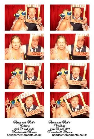 Alex and Rob's Wedding at Tredudwell Manor 24-04-19