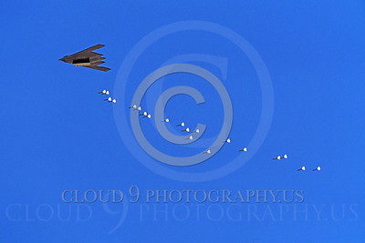U.S. Air Force Northrop B-2 Spirit Ordnance Release Pictures