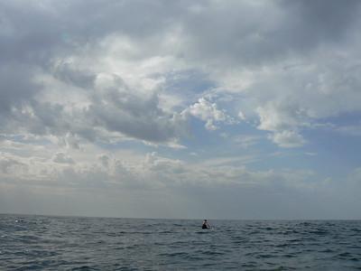 Surf landing at Gerontas