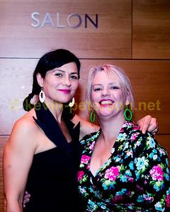 Monique diMattina and Rebecca Barnard at the MRC