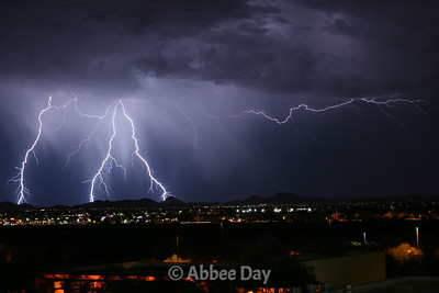 Nighttime Lightning