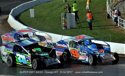 Oswego Speedway - Billy Whittaker Cars 200 - 10/8/17 - Rick Young