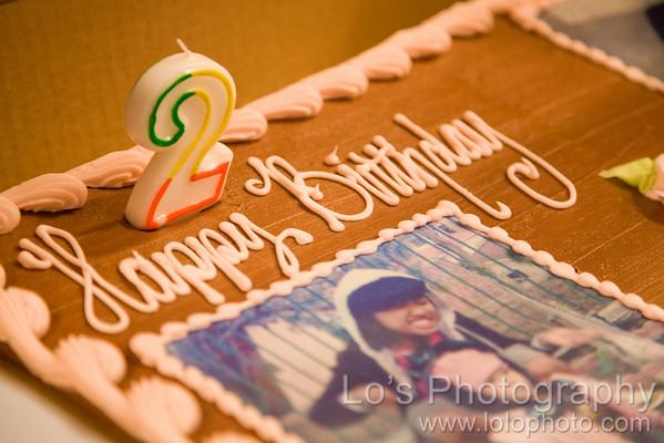Jasmine's 2nd & Regina's 16th Birthday