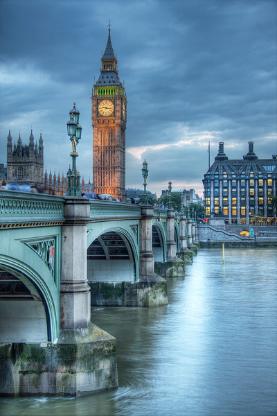 Imperial Grey. London, England (HDR)
