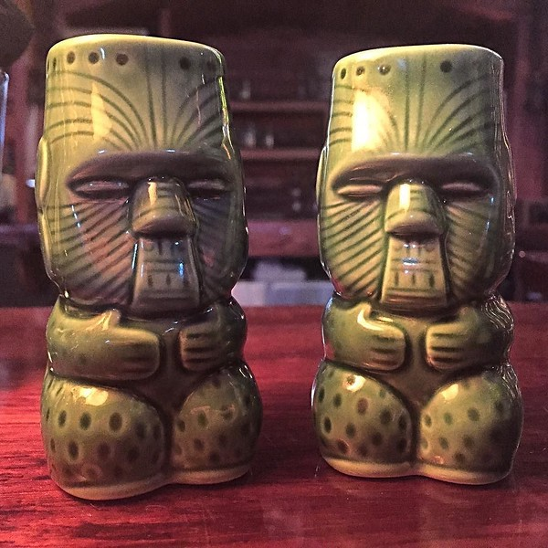 Definitely two of the coolest shot glasses I've ever used. #latergram