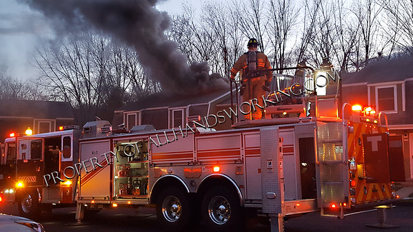Wallingford 131 Brentwood Village Condos fire