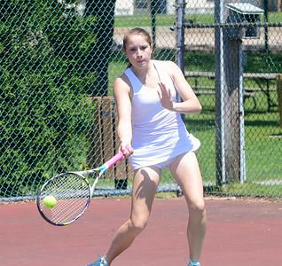 2014 BBA Varsity Girls Tennis Semifinal vs Harwood photos by Gary Baker
