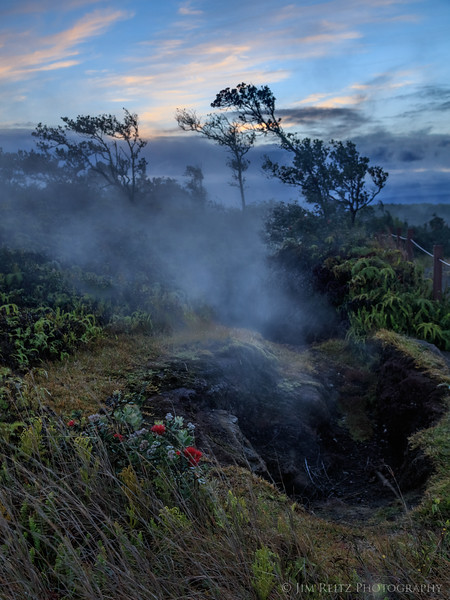 Steaming Bluff - Hawaii Volcanoes National Park