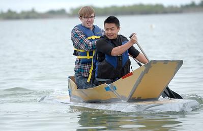 5/20/15 Centaurus Cardboard Boat Tests