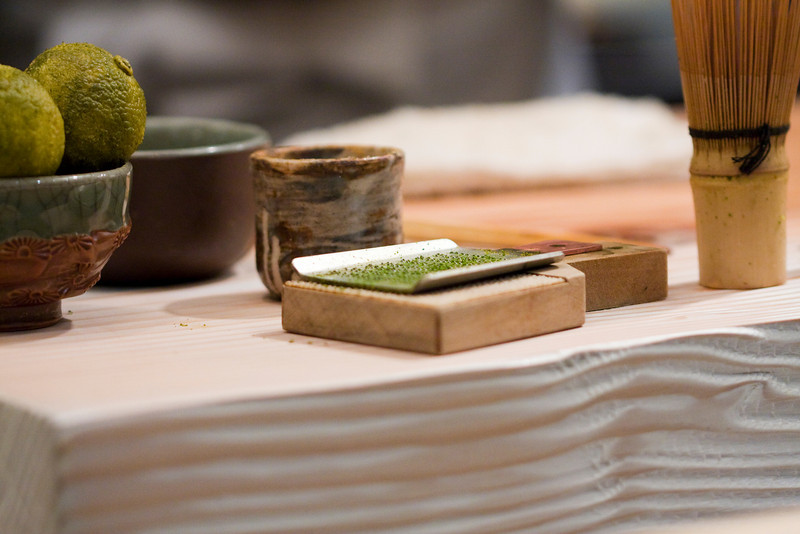A small grater for the yuzu skin that is used for many of his dishes.