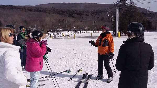 Helma Goes Skiing