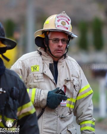 Brush/Garage Fire - 137 Big Oak Rd, Stamford, CT - 4/10/20