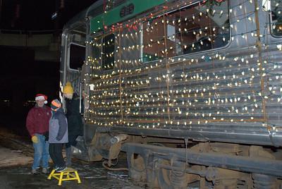 2014 12 19: Santa, Train Museum